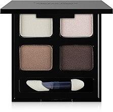 Parfumuri și produse cosmetice Fard pentru sprâncene 4 culori - Pierre Rene Palette Match System Eyeshadow