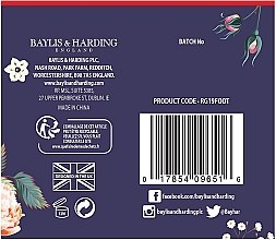 Set - Baylis & Harding Royale Garden Foot Care Set (f/lot/125ml + socks) — Imagine N4