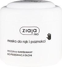 Parfumuri și produse cosmetice Mască pentru mâini și unghii - Ziaja Pro Hand and Nail Mask
