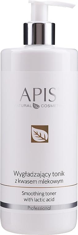 Tonic pentru netezire cu Acid Lactic - APIS Professional Smoothing Toner With Lactic Acid
