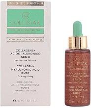 Parfumuri și produse cosmetice Concentrat cu efect de lifting pentru piept - Collistar Attivi Puri Collagene + Acido Ialuronico