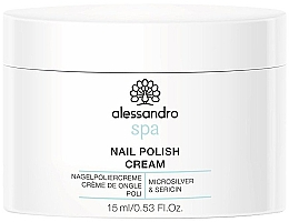 Parfumuri și produse cosmetice Cremă pentru unghii - Alessandro International Spa Nail Polish Cream