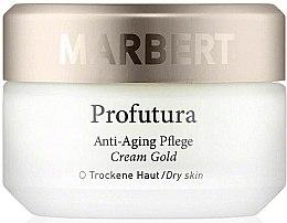 Parfumuri și produse cosmetice Cremă anti-îmbătrânire pentru față - Marbert Profutura Anti-Aging Skin Care Cream Gold