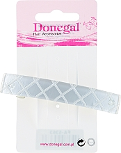 Parfumuri și produse cosmetice Agrafă de păr, perlată - Donegal Automatic Hair Clip Barrette