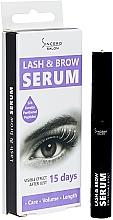 Parfumuri și produse cosmetice Ser pentru gene și sprâncene - Sincero Salon Lash & Brow Serum