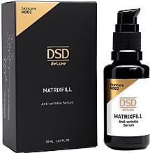 Parfumuri și produse cosmetice Ser facial anti-îmbătrânire - Simone DSD De Luxe Matrixfill Anti-wrinkle Serum