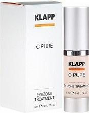 Parfumuri și produse cosmetice Cremă pentru pleoape - Klapp C Pure EyeZone Treatment
