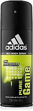 Parfumuri și produse cosmetice Adidas Pure Game - Deodorant
