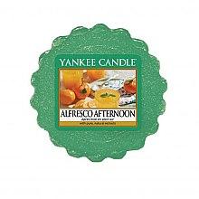 Parfumuri și produse cosmetice Ceară aromată - Yankee Candle Alfresco Afternoon
