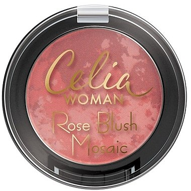 Fard de obraz - Celia Woman Rose Blush Mosaic
