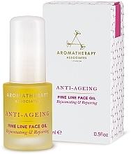 Parfumuri și produse cosmetice Ulei antirid pentru față - Aromatherapy Associates Anti-Ageing Fine Line Face Oil