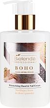 Parfumuri și produse cosmetice Cremă de mâini - Bielenda Professional Nailspiration Boho Moisturising Hand & Nail Cream