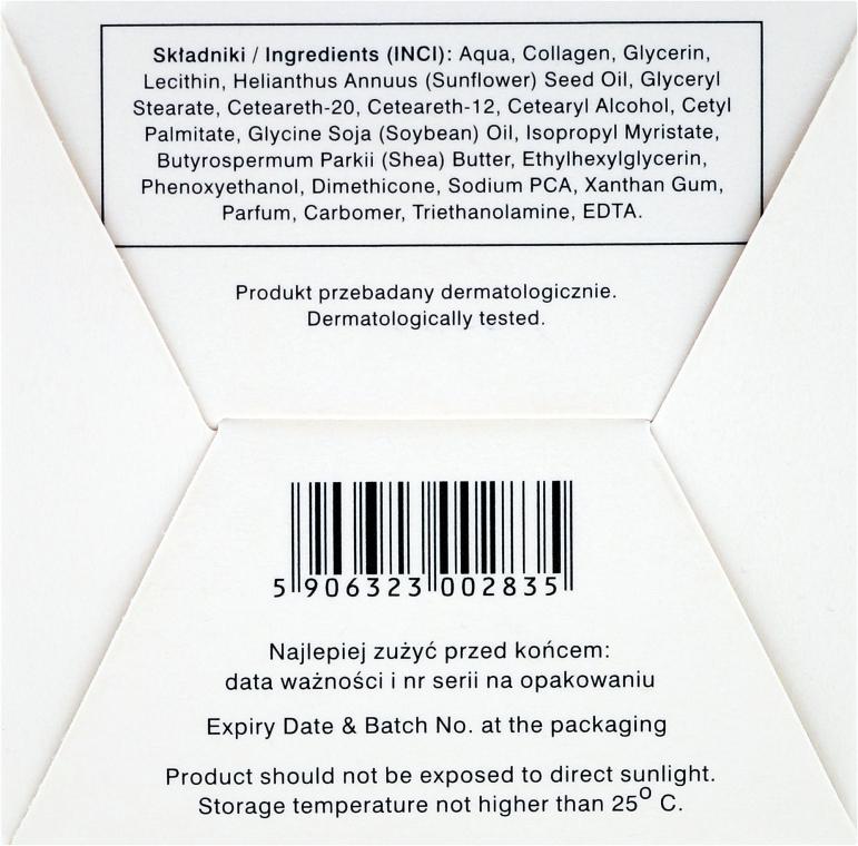 Cremă anti-rid cu colagen și unt de shea 55+ - Ava Laboratorium L'Arisse 5D Anti-Wrinkle Cream Bio Collagen + Shea Butter — Imagine N3