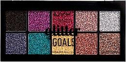 Parfumuri și produse cosmetice Paletă de machiaj - NYX Professional Glitter Goals