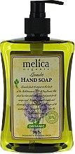 Parfumuri și produse cosmetice Săpun lichid cu miros de lavandă - Melica Organic Lavander Liquid Soap