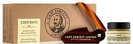 Set - Captain Fawcett Sandalwood (moust/wax/15ml + moustache comb) — Imagine N1