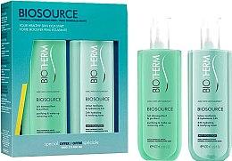 Parfumuri și produse cosmetice Set - Biotherm Duo Biosource Piel Normal-Mixta (lot/400ml + milk/400ml)