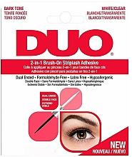 Parfumuri și produse cosmetice Adeziv 2 în 1 pentru gene false - Ardell Duo Adhesive 2in1 Lash Brush On Clear&Dark