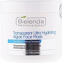 Parfumuri și produse cosmetice Mască facială ultra hidratantă, transparentă cu alge - Bielenda Professional Program Face Transparent Ultra Hydrating Face Algae Mask