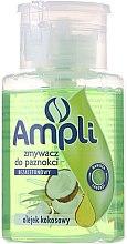 Parfumuri și produse cosmetice Soluție pentru îndepărtarea ojei cu acetonă - Ampli