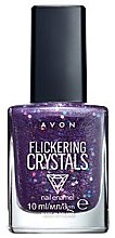 Parfumuri și produse cosmetice Lac de unghii - Avon Flickering Crystals (Happy Place)