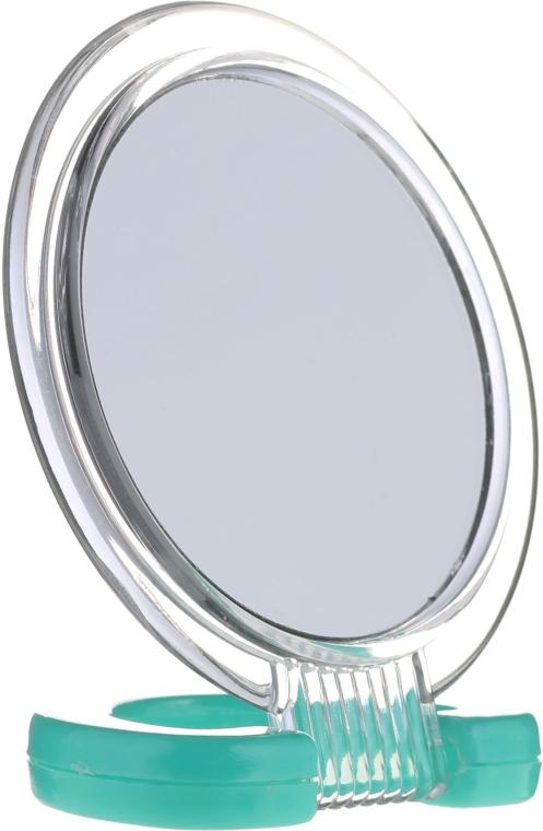 Oglindă cosmetică, 5053, verde - Top Choice
