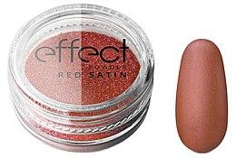 Parfumuri și produse cosmetice Pudră pentru unghii - Silcare Red Satine Effect Powder