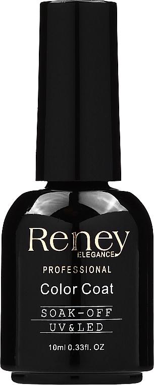 Top coat pentru oja semipermanentă, lucios - Reney Cosmetics Top Super Shiny No Wipe