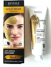 Parfumuri și produse cosmetice Mască de față - Revuele Gold Face Mask Lifting Effect Anti-Age