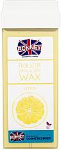 """Parfumuri și produse cosmetice Ceară depilatoare, cartuș """"Lemon"""" - Ronney Wax Cartridge Lemon"""