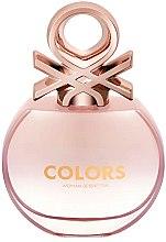 Parfumuri și produse cosmetice Benetton Colors De Benetton Rose - Apă de toaletă