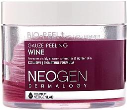 Parfumuri și produse cosmetice Discuri peeling cu extract de vin roșu pentru față - Neogen Dermalogy Bio Peel Gauze Peeling Wine