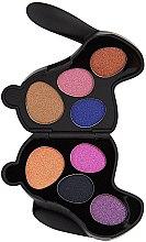 Parfumuri și produse cosmetice Paletă fard de ochi - I Heart Revolution Bunny Liquorice Palette