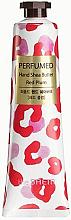 """Parfumuri și produse cosmetice Cremă nutritivă pentru mâini """"Red Prum"""" - The Saem Perfumed Red Plum Hand Shea Butter"""