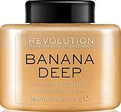 Parfumuri și produse cosmetice Pudră de față - Makeup Revolution Banana Deep Baking Powder