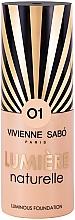 Parfumuri și produse cosmetice Fond de ten,cu efect strălucitor - Vivienne Sabo Lumiere Naturelle Luminous Foundation