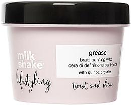 Parfumuri și produse cosmetice Ceară pentru aranjarea părului - Milk Shake Lifestyling Grease Braid Defining Wax