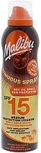 Parfumuri și produse cosmetice Ulei uscat de corp cu protecție solară - Malibu Continuous Dry Oil Spray SPF 15