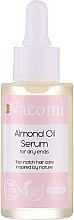 Parfumuri și produse cosmetice Ser pentru păr - Nacomi Natural With Sweet Almond Oil Serum