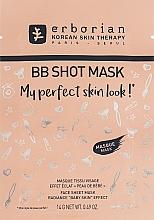 Parfumuri și produse cosmetice Mască de țesut pentru față - Erborian BB Shot Mask