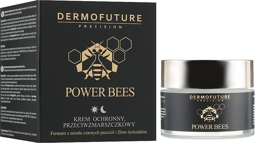 Cremă de față - Dermofuture Power Bees Protective Anti-wrinkle Cream
