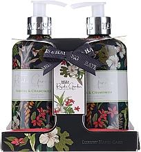 Parfumuri și produse cosmetice Set - Baylis & Harding Royale Garden (soap/300ml + h/cr/300ml)
