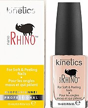 "Parfumuri și produse cosmetice Tratament pentru unghiile slabe și fragile ""Rinoceri"" - Kinetics Nano Rhino Nail Treatment"