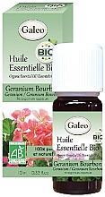Parfumuri și produse cosmetice Ulei esențial organic de geranium bourbon - Galeo Organic Essential Oil Geranium Bourbon