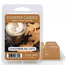 Parfumuri și produse cosmetice Ceară pentru lampă aromată - Country Candle Gingerbread Latte Wax Melts