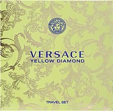 Духи, Парфюмерия, косметика Versace Yellow Diamond - Набор (edt 90ml + b/lot 100ml)