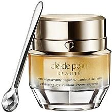 Parfumuri și produse cosmetice Cremă de modelare pentru zona ochilor - Cle De Peau Beaute Enhancing Eye Contour Cream Supreme