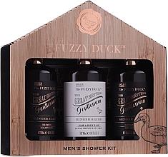Parfumuri și produse cosmetice Set - Baylis & Harding Men's Fuzzy Duck Ginger & Lime Lixury Grooming Gift Set (ash/balm/300ml + shm/300ml + sh/gel/300ml)