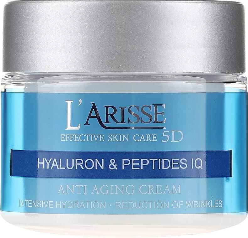 Cremă anti-rid cu acid hialuronic - Ava Laboratorium L'Arisse 5D Anti-Wrinkle Cream Phytohyaluron + Peptides — Imagine N2