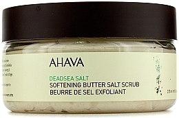 Parfumuri și produse cosmetice Scrub de corp cu sare de la Marea Moarta - Ahava Softening Butter Salt Scrub